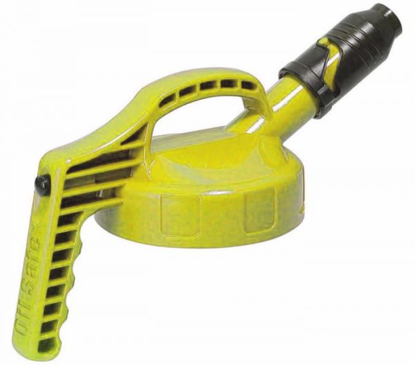 Oil Safe Stumpy Spout Lid Yellow – Stratson.eu